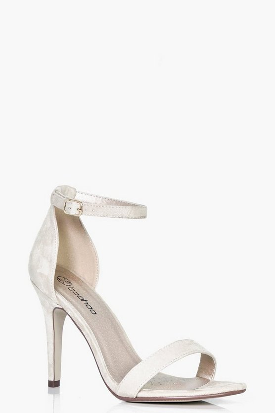 Cushioned Mid Heel 2 Part Heels
