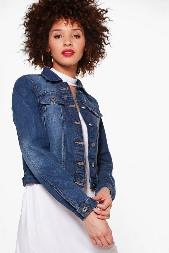 Emily Slim Fit Denim Jacket