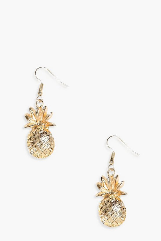 Grace Pineapple Earrings