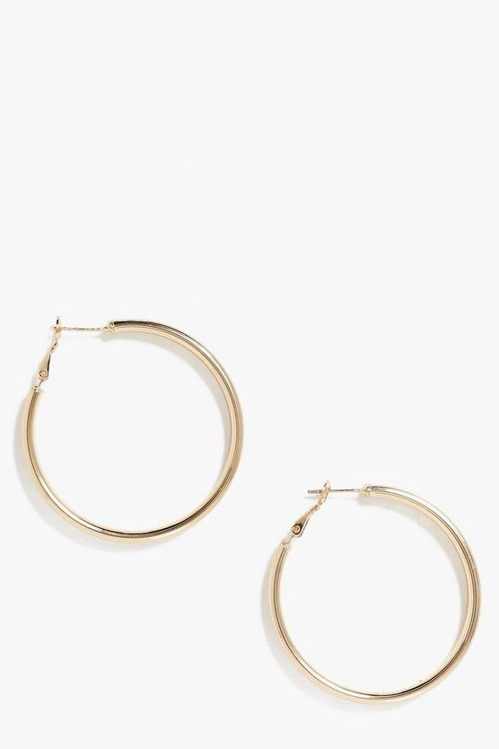 Ella Chunky Hoop Earrings