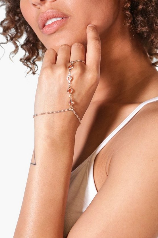 Emma Delicate Stone Detail Hand Harness