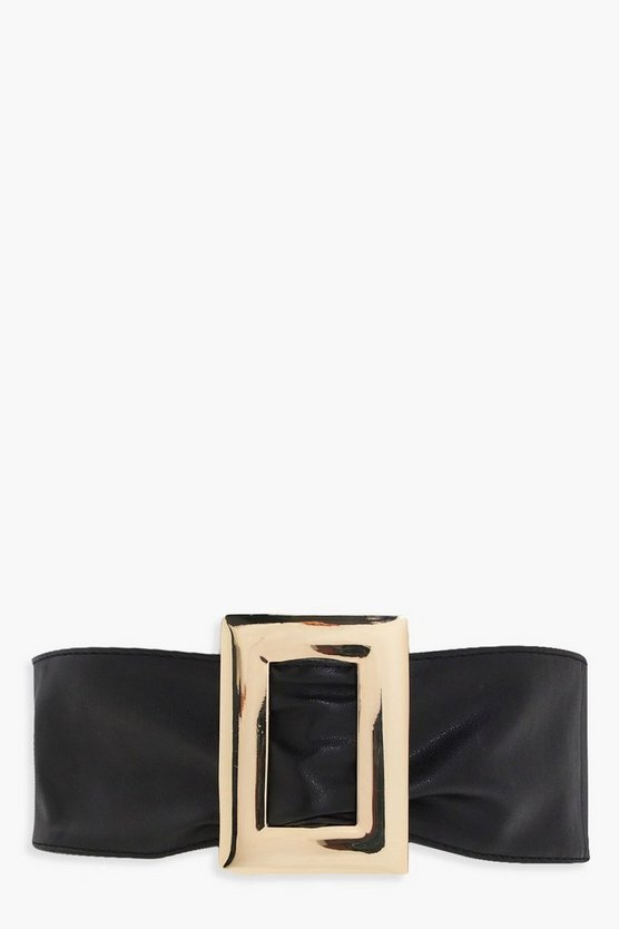 Sofia Large Square Buckle Waist Belt