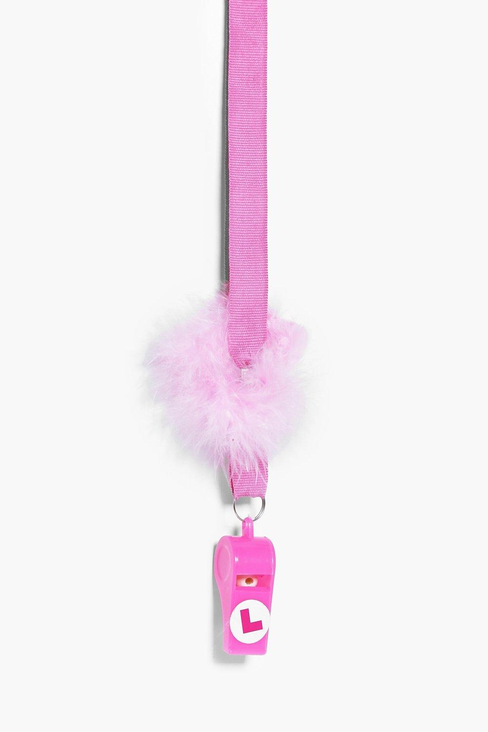 Party Fluffy Whistle  pink