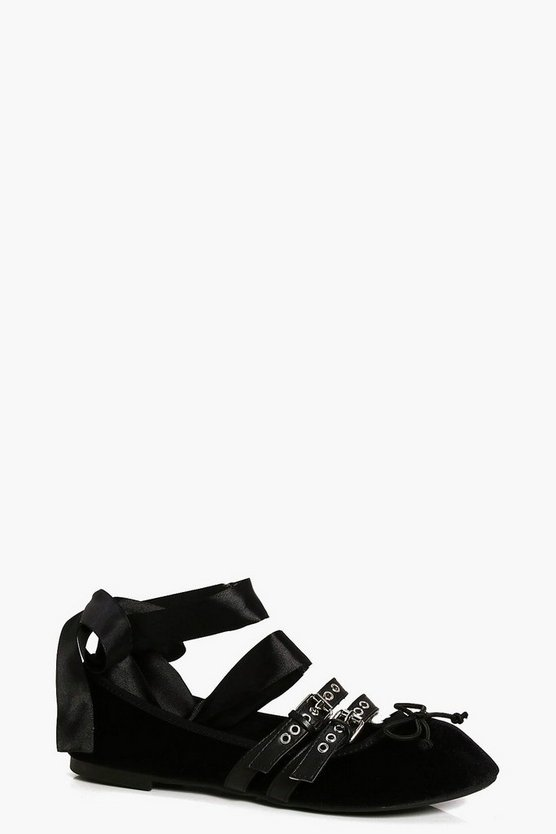 Alice Multi Strap Ribbon Tie Ballet