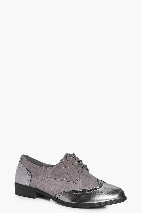 Molly Lace Up Brogue