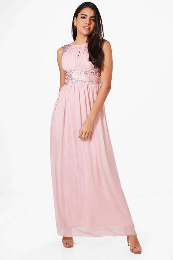 Boutique Charlie Embellished Maxi Dress