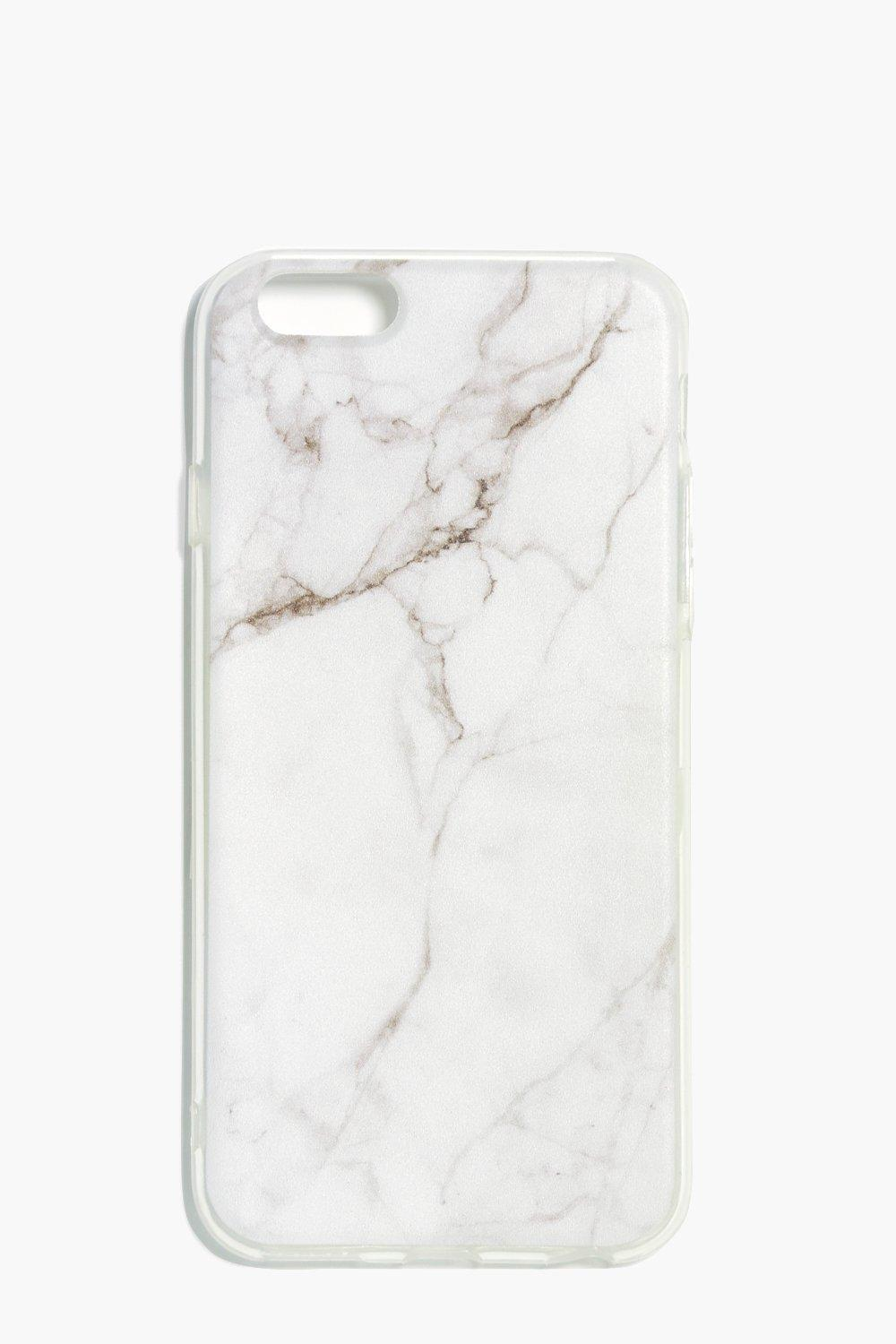 Marble iPhone 6 Case - white - White Marble iPhone