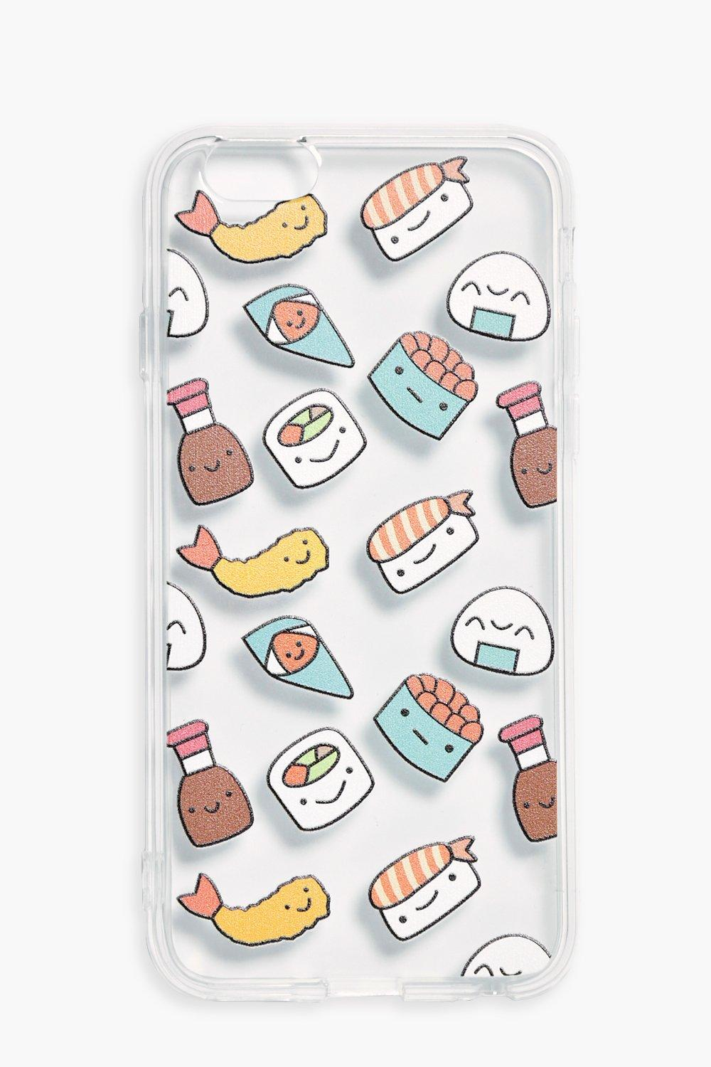Clear iPhone 6 Case - clear - Sushi Clear iPhone 6
