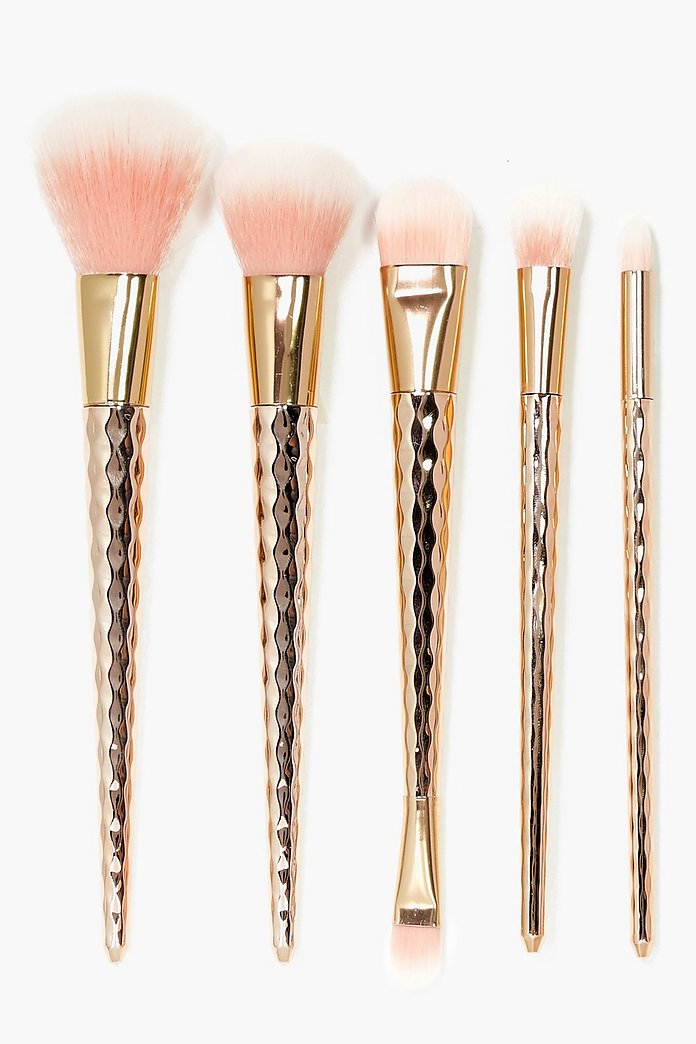 Metallic Unicorn 5 Piece Brush Set
