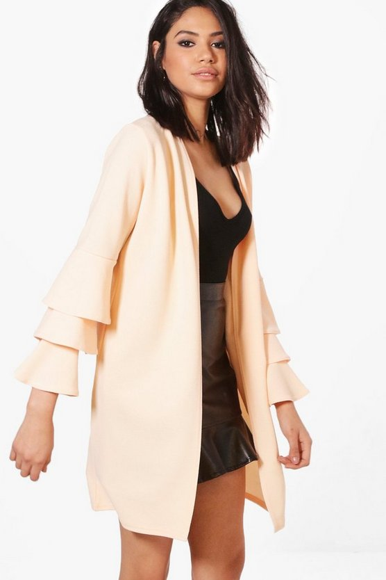 Kerry Frill Sleeve Duster