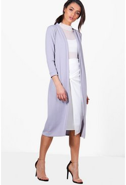 Karina Collarless Duster