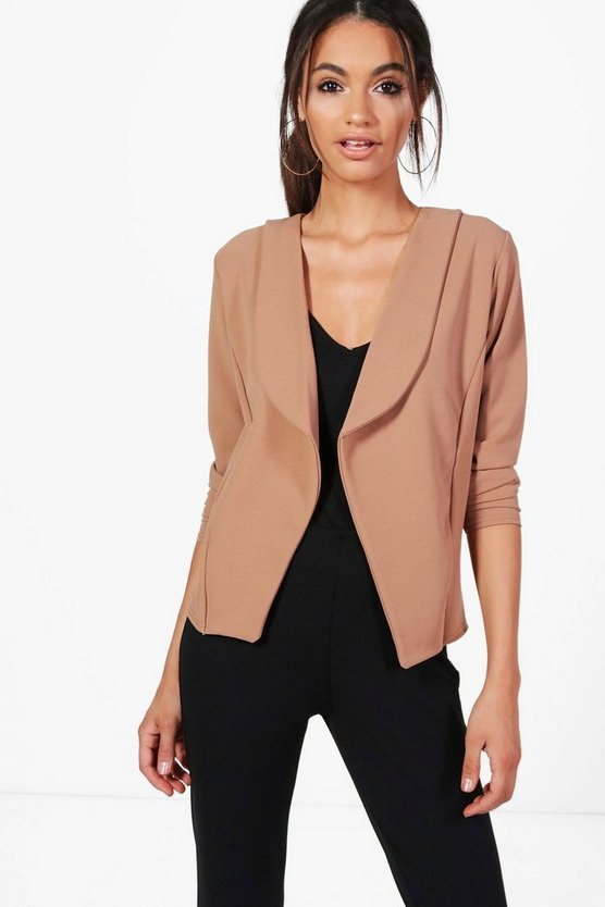 Hannah Collared Tailored Blazer