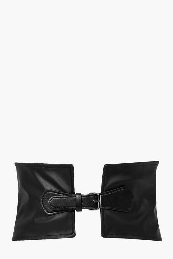 Phoebe PU Buckle Waist Belt