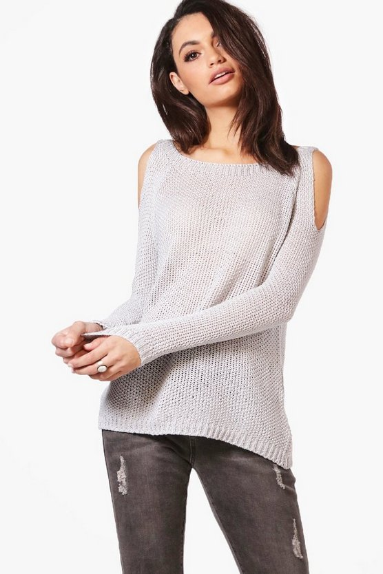 Charlotte Cold Shoulder Jumper