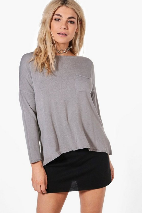 Natalie Oversized Slouchy Jumper