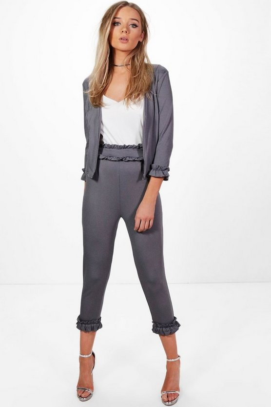 Ellie Frill Detail Trouser