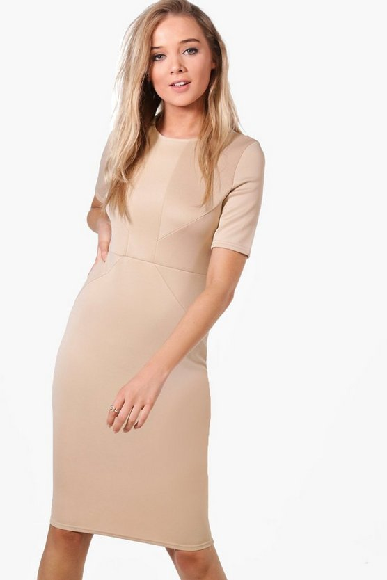 Olivia Tailored Midi Dress