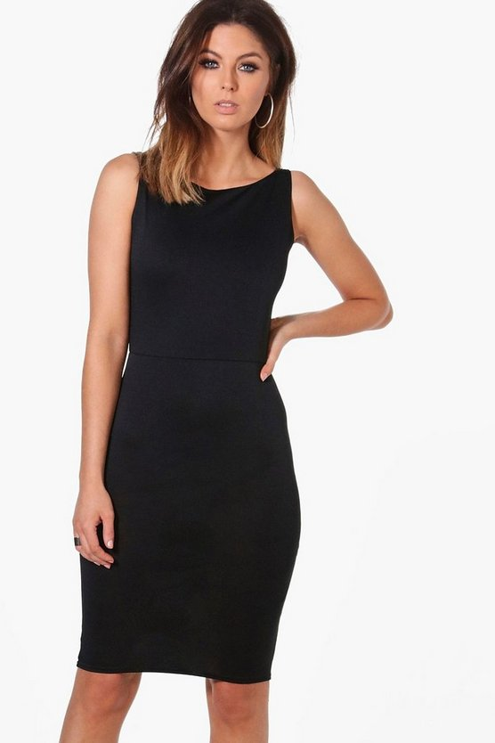 Andrea Sleeveless Tailored Dress