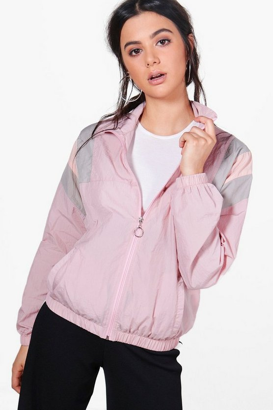 Kelly Panelled Windbreaker