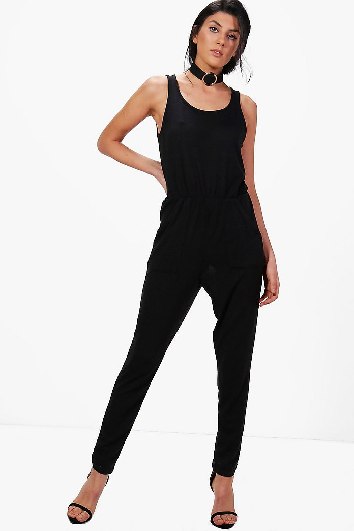 Eve Sleeveless Lounge Jumpsuit