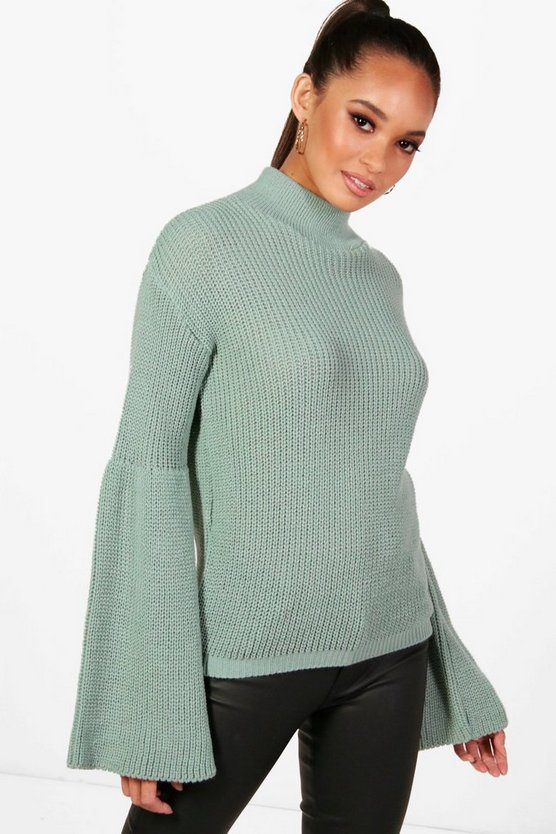 Phoebe Wide Sleeve Jumper