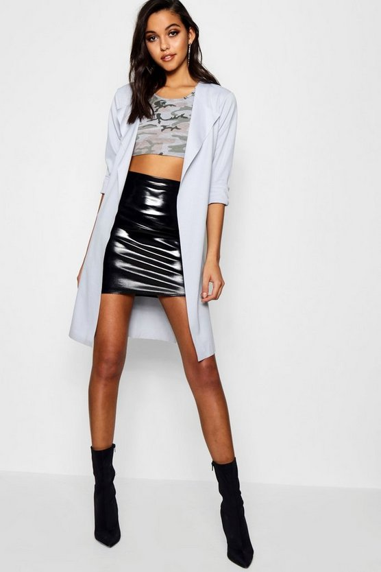 Georgina Long Sleeve Belted Duster