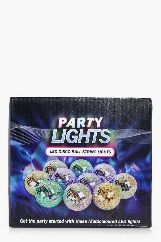 LED Light Up Disco Ball Fairy Lights
