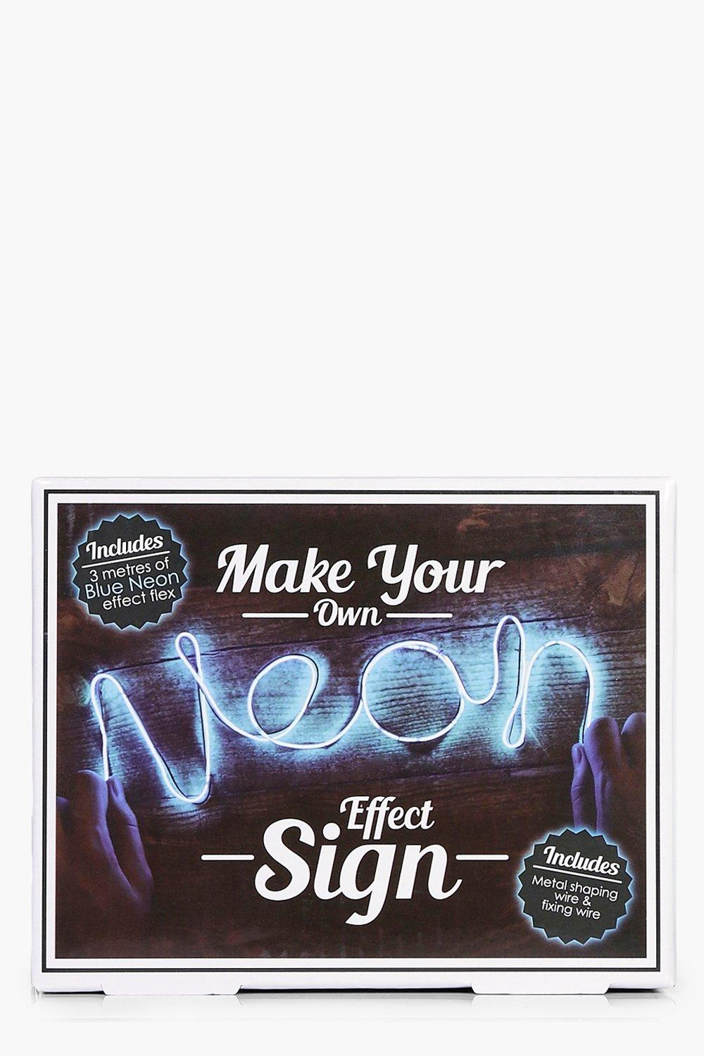Your Own Neon Sign Kit - blue