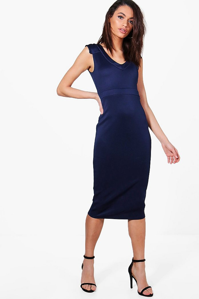 Holly Tailored Midi Dress