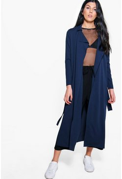Melanie Belted Waterfall Trench