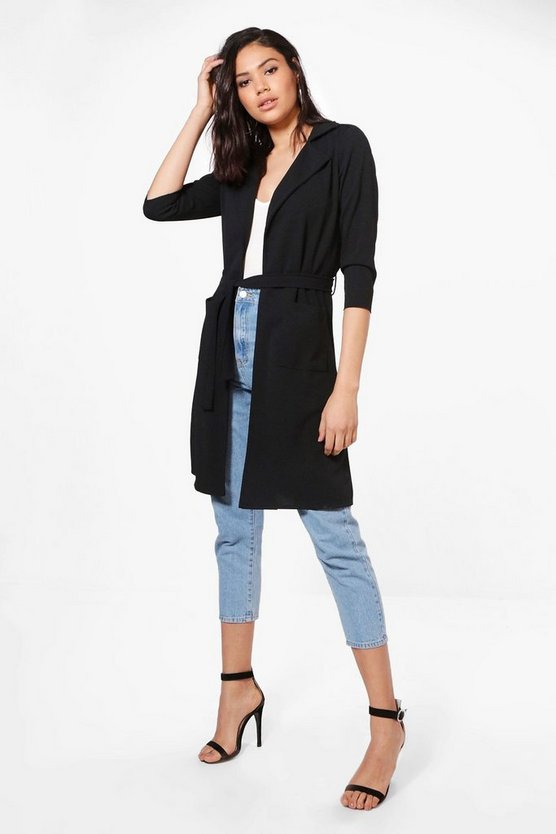 Eve Belted Pocket Trench