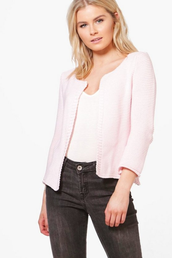 Francesca Lightweight Edge To Edge Cardigan