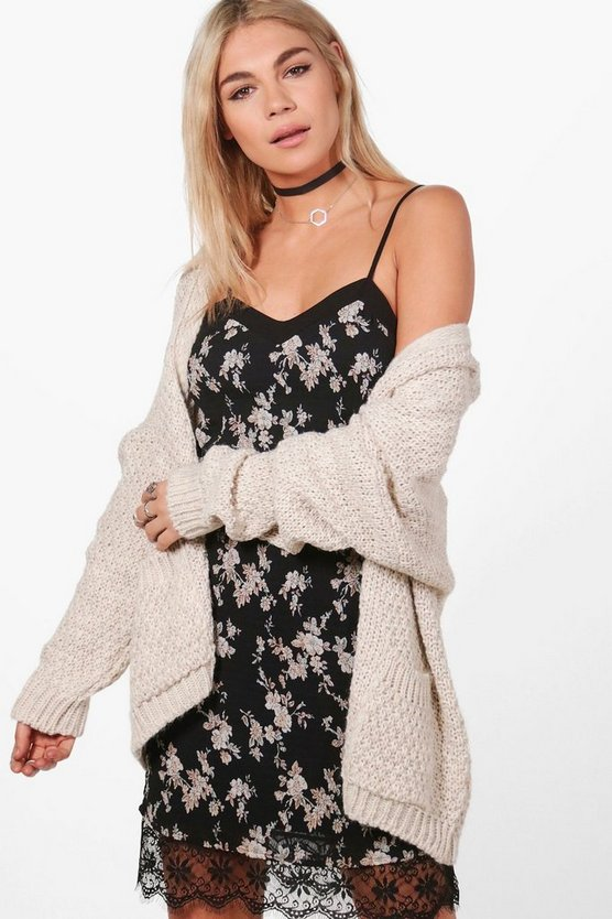 Julia Chunky Oversized Cardigan