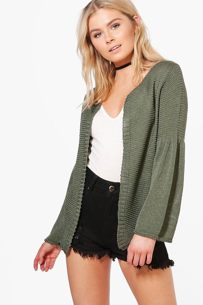 Erin Flared Sleeve Cardigan