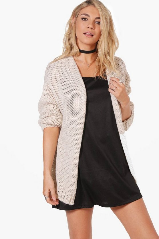 Lacey Chunky Knit Cardigan