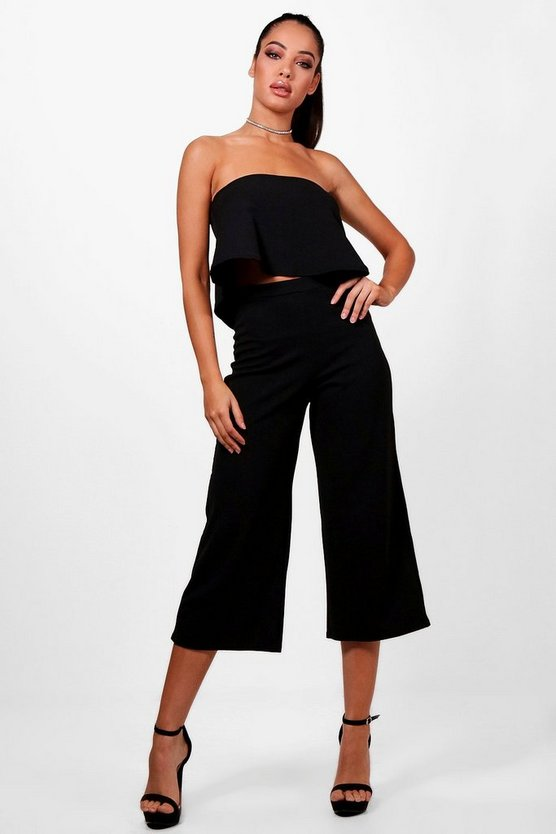 Cari Bandeau Top & Culottes Co-Ord Set