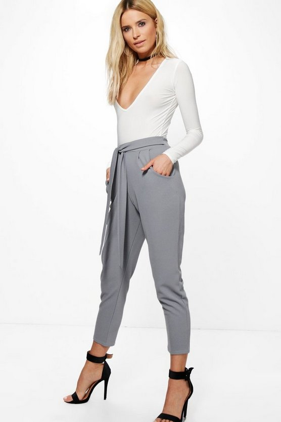 Layla Bodysuit & Tie Trouser Co-Ord Set
