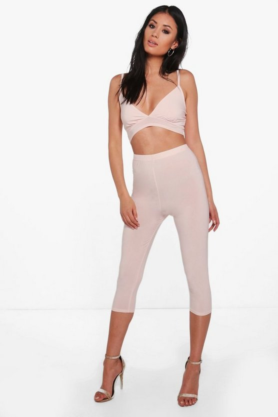 Julia Slinky Bralet & Legging Co-Ord Set