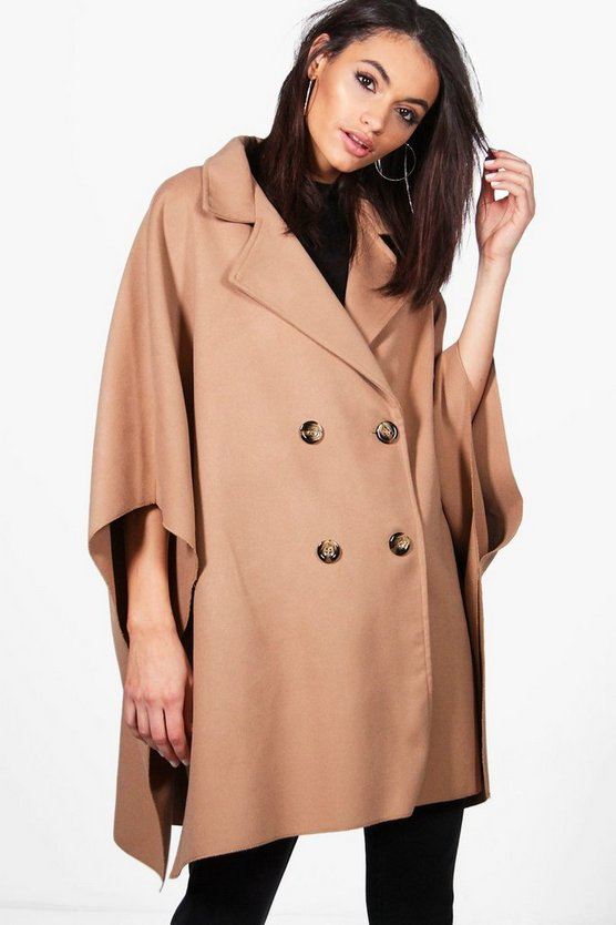 Jenna Wool Look Cape