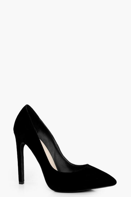 Katie High Heel Court Shoe