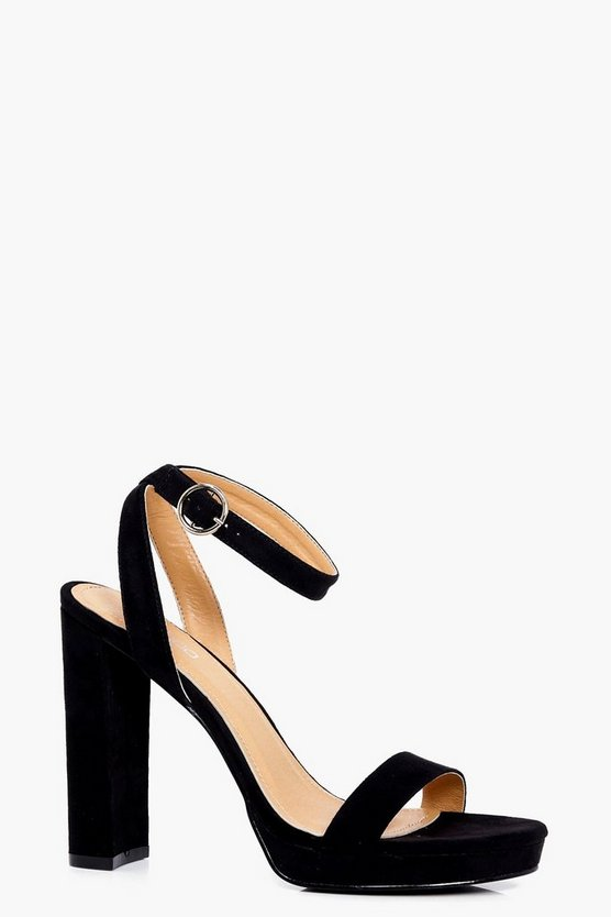 Isabel 2 Part Platform Heel