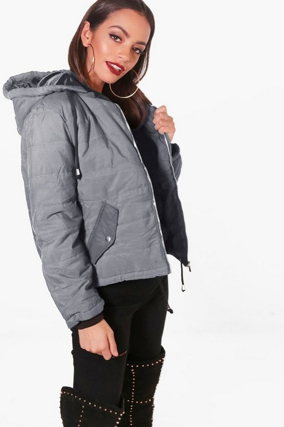 Harriet Hooded Padded Jacket