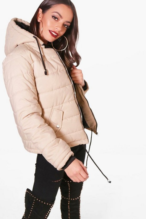 Hooded Padded Jacket