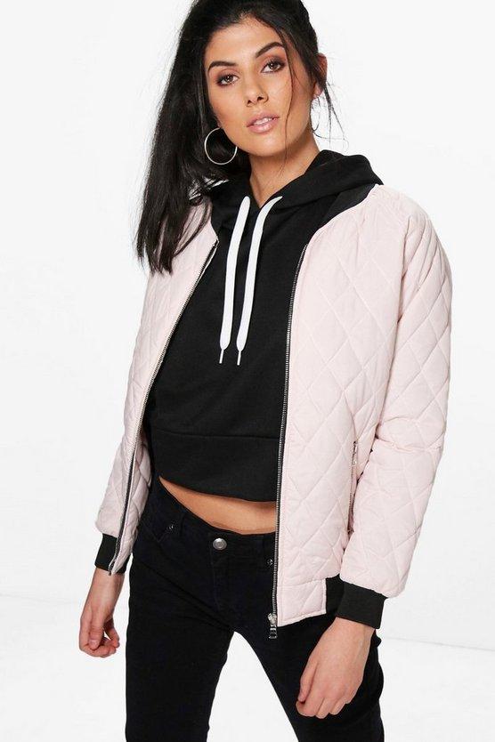 Alexis Quilted Bomber Jacket