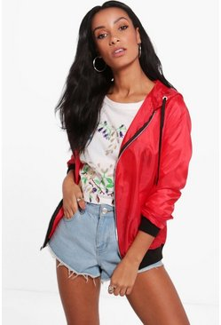 Lucy Hooded Lightweight Festival Bomber