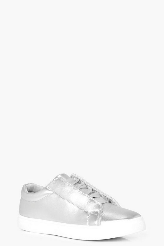 Maisie Ribbon Lace Trainers