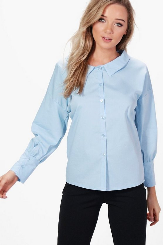 Harriet Wide Neck Shirt