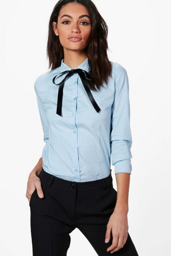Christina Tie Neck Shirt