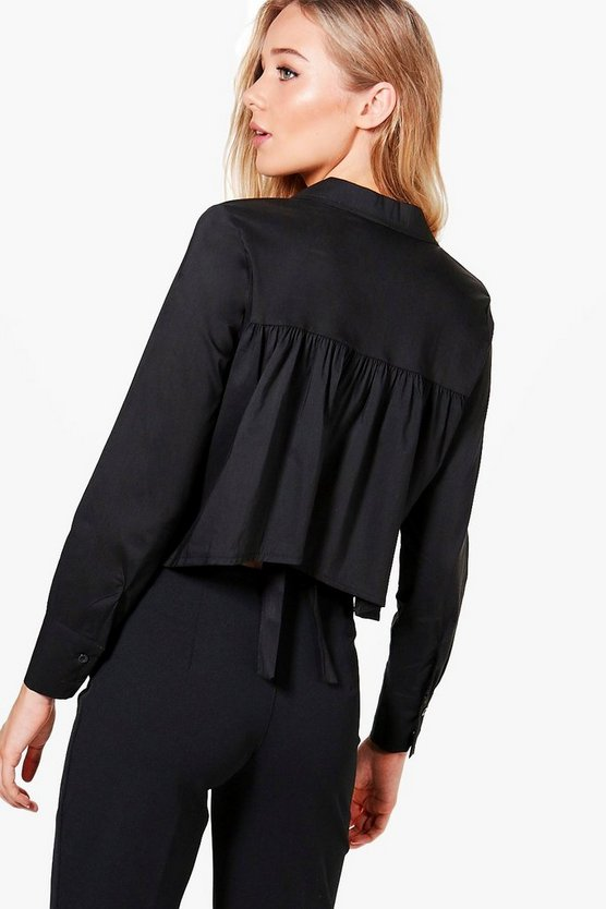 Leanne Tie Back Detail Shirt