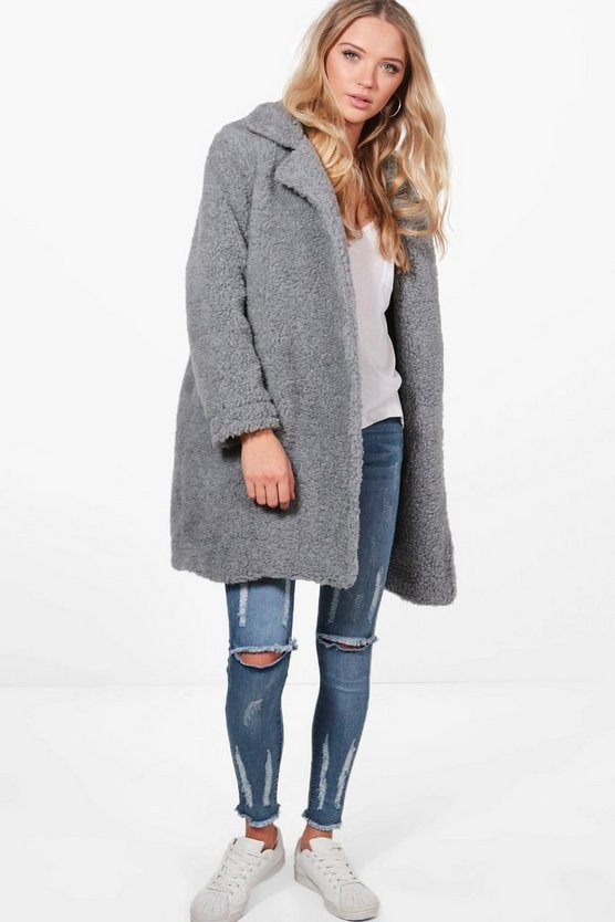 Phoebe Teddy Fur Coat